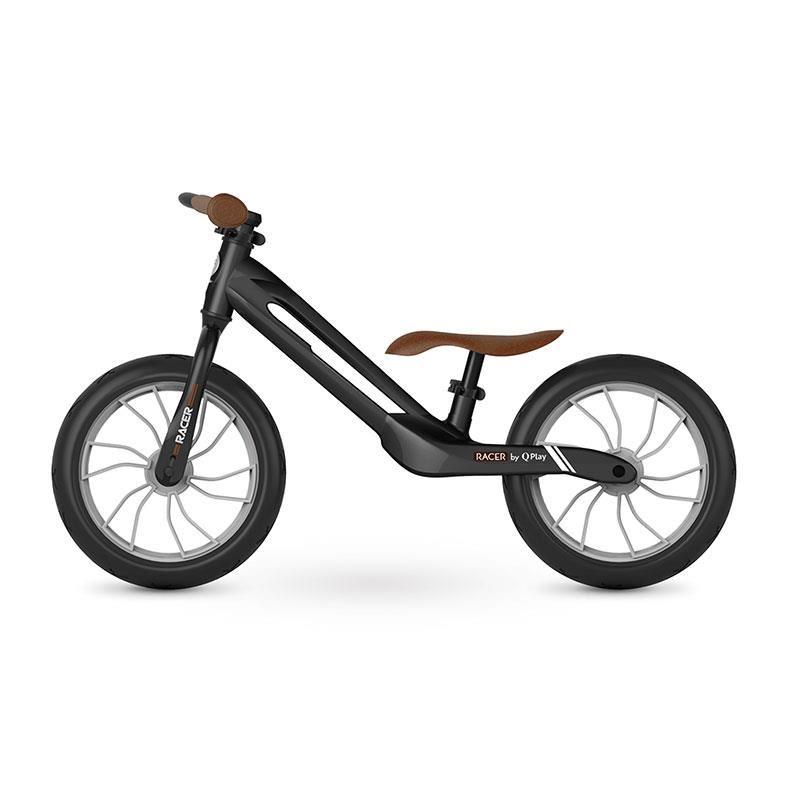 Balance bike QPlay Racer Negru