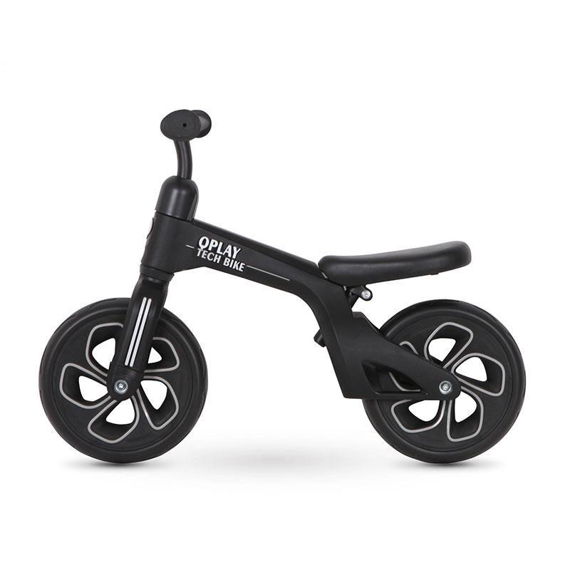 Balance bike Qplay Tech Negru