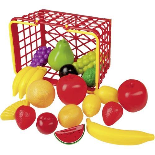 Cos cu 19 Fructe de Jucarie
