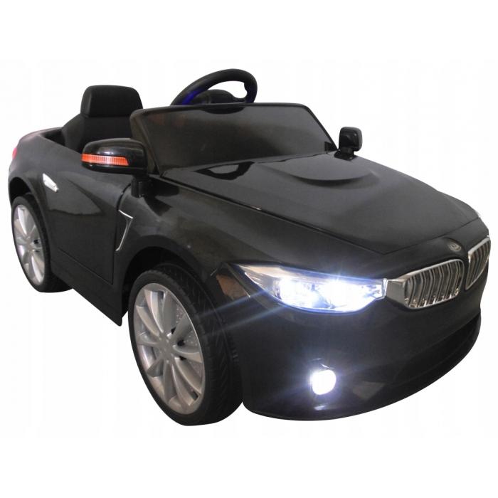Masinuta electrica cu telecomanda cabrio b8 brd-9998 r-sport - negru