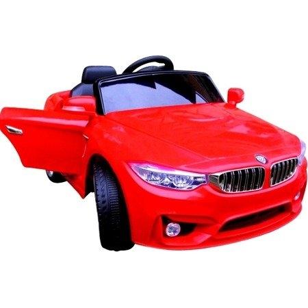 Masinuta electrica cu telecomanda cabrio b8 brd-9998 r-sport - rosu