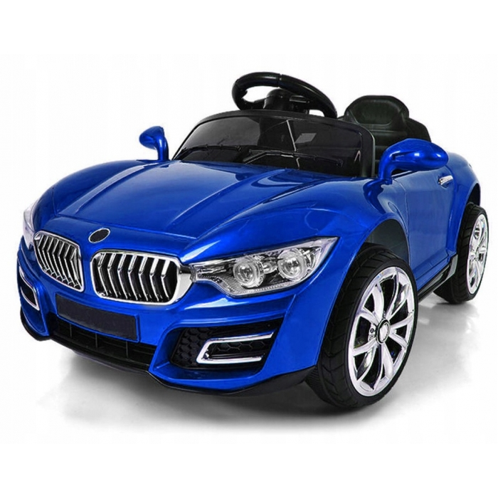 Masinuta electrica cu telecomanda cu baterii si functie de balansare r-sport cabrio b16 - albastru