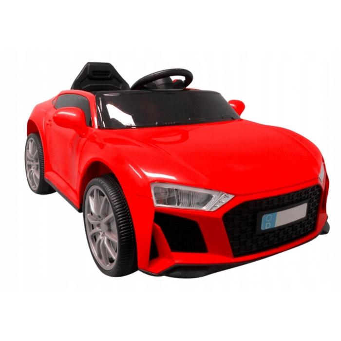 Masinuta electrica cu telecomanda si functie de balansare cabrio aa5 r-sport - rosu