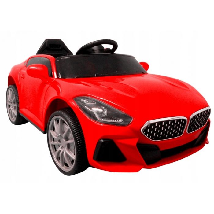Masinuta electrica cu telecomanda si functie de balansare cabrio aa6 r-sport - rosu