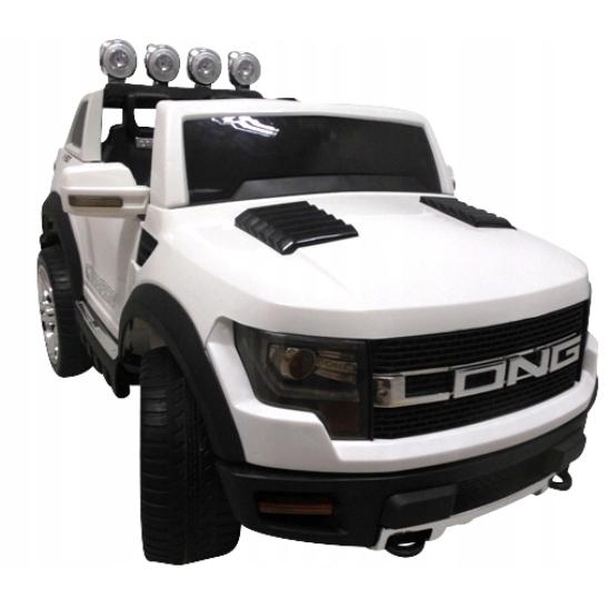 Masinuta electrica cu telecomanda si roti din spuma eva cabrio long bbh-1388 r-sport - alb