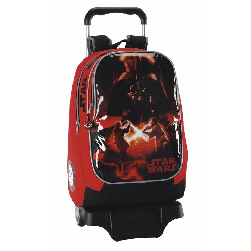 Rucsac trolley pentru scoala colectia Star Wars