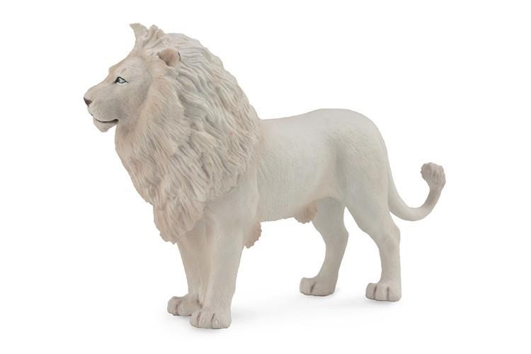 Figurina Leu Alb L Collecta