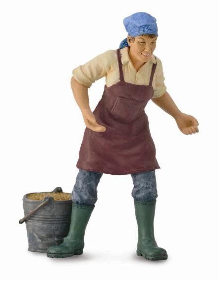 Figurina Femeie Fermier Collecta