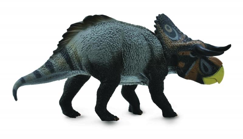 Figurina dinozaur Nasutoceratops pictata manual L Collecta