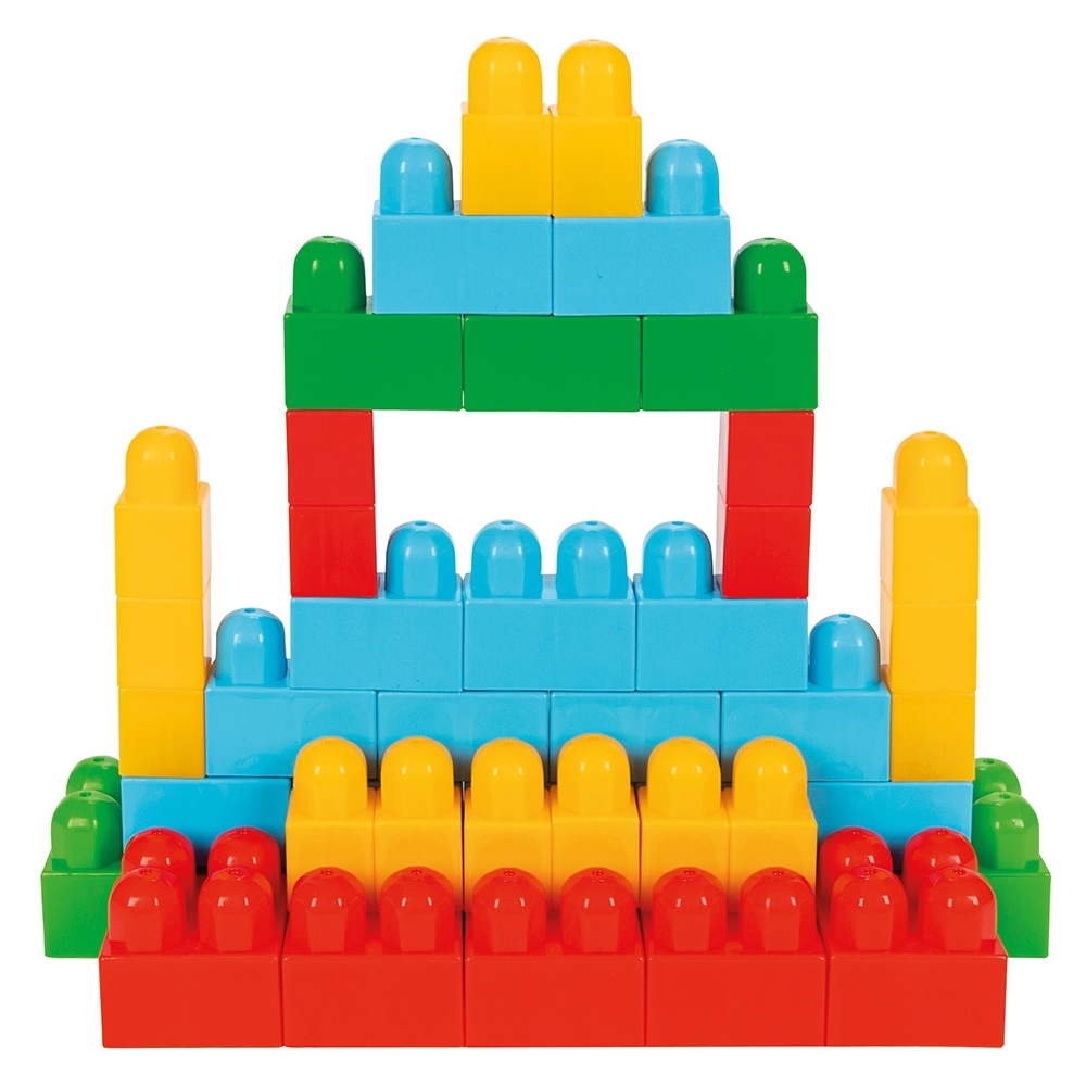 Jucarie Pilsan Cuburi de construit in cutie Super Blocks 95 piese