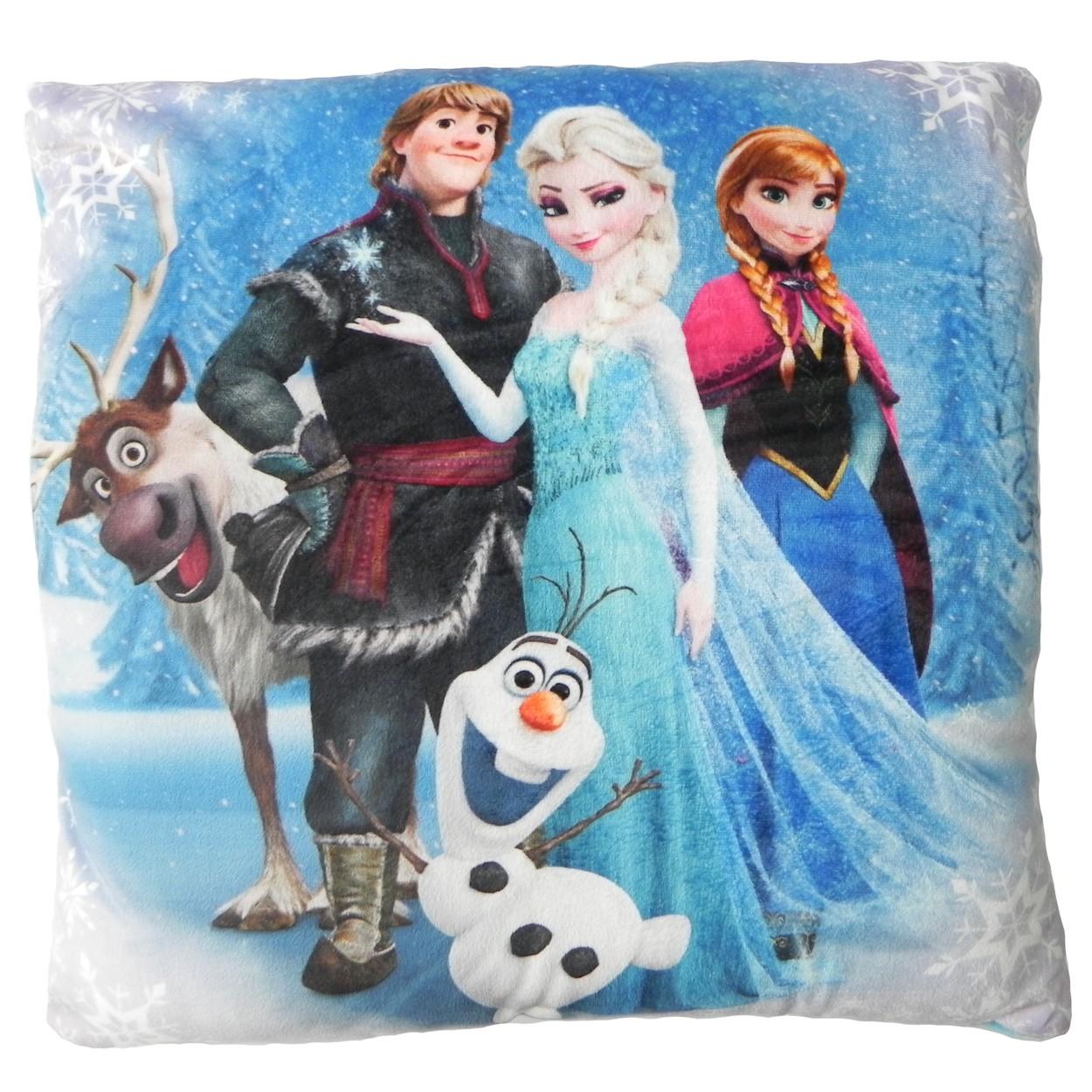 Perna decorativa din plus Frozen