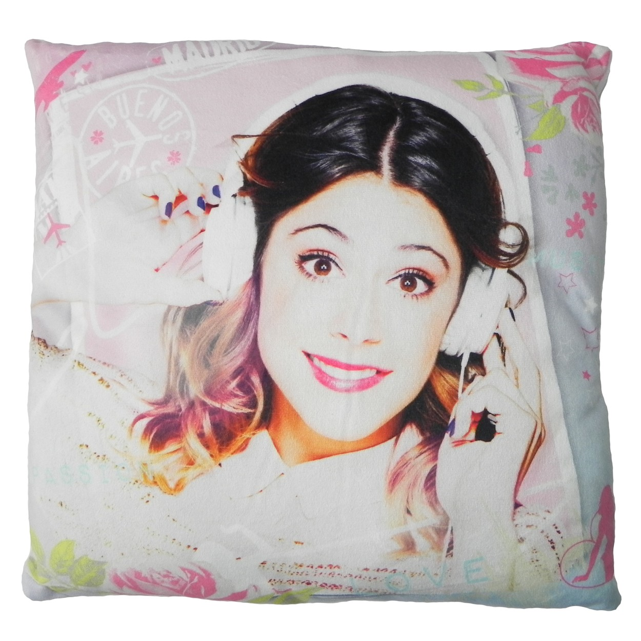 Perna Decorativa Din Plus Violetta imagine