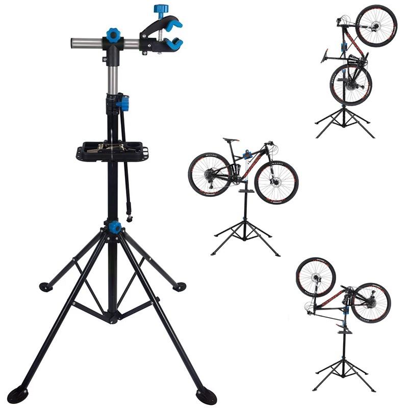 Stand reparatii bicicleta, pliabil, inaltime ajustabila, rotire 360 grade