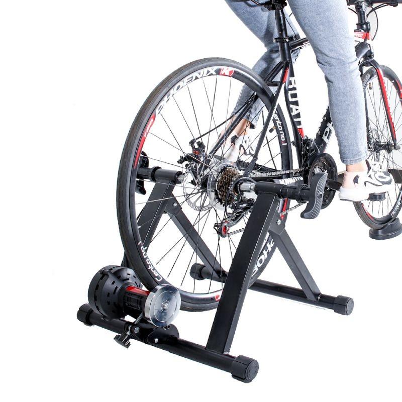 Suport antrenament bicicleta 26-29 inch, rezistenta reglabila, magnetic