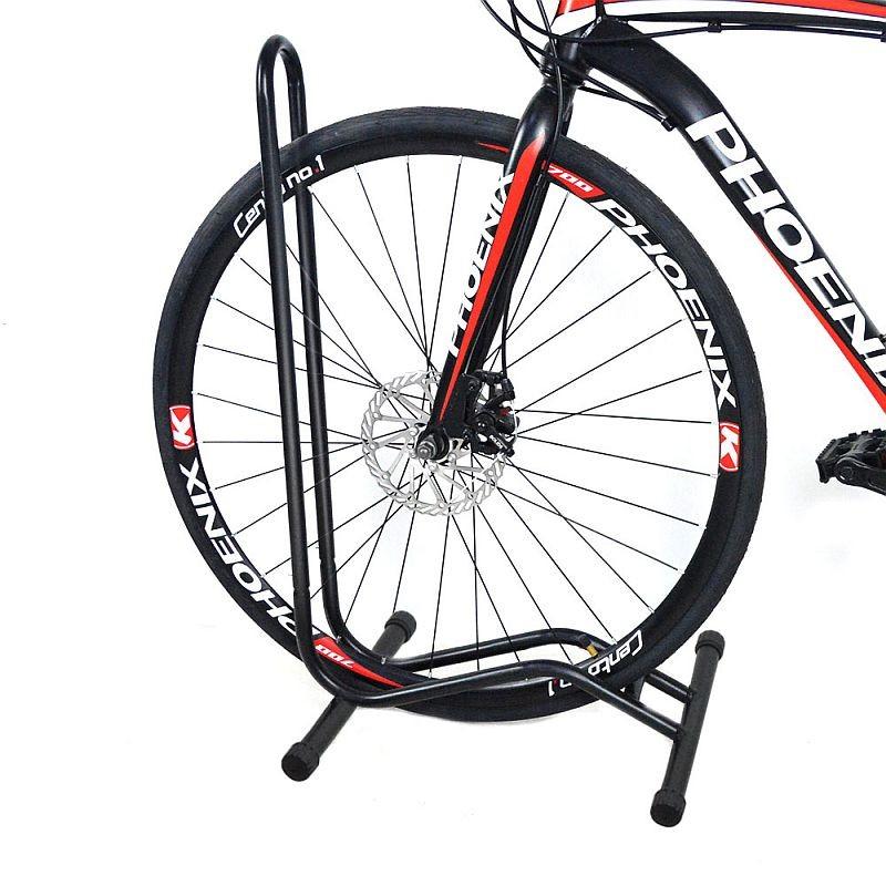 Suport pentru biciclete, de podea, roti 16-29', portabil, otel