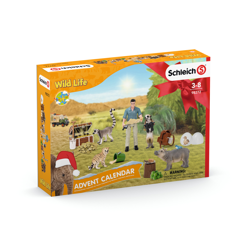 SCHLEICH Calendar de advent Wild Life 2021