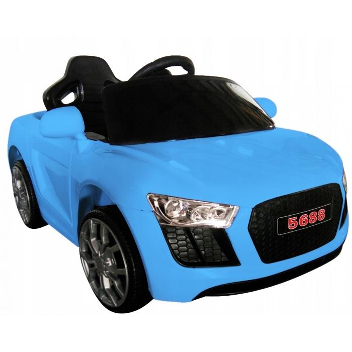 Masinuta electrica cu telecomanda cabrio aa4 r-sport - albastru
