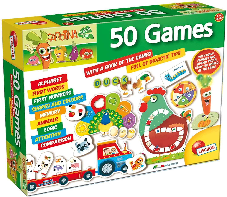 Set 50 jocuri cu pix interactiv