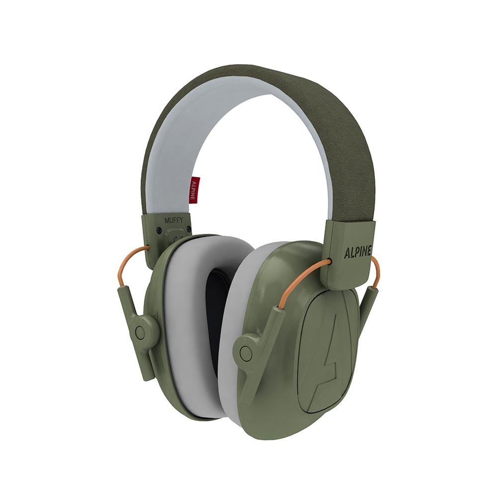 Alpine Muffy Kids - Casca impotriva zgomotului antifon - green image0