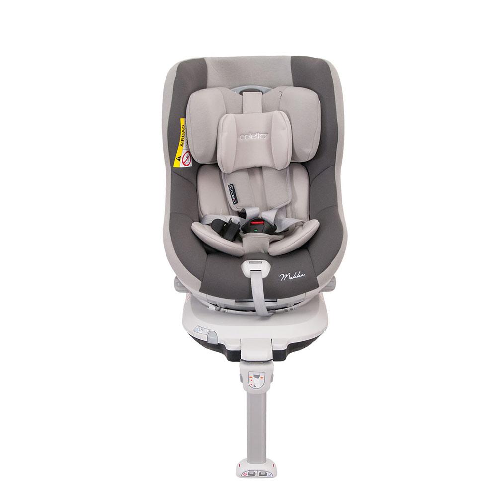 Scaun Auto Mokka Rotativ 360 Grade Cu Isofix 0-18 Kg Gri Coletto