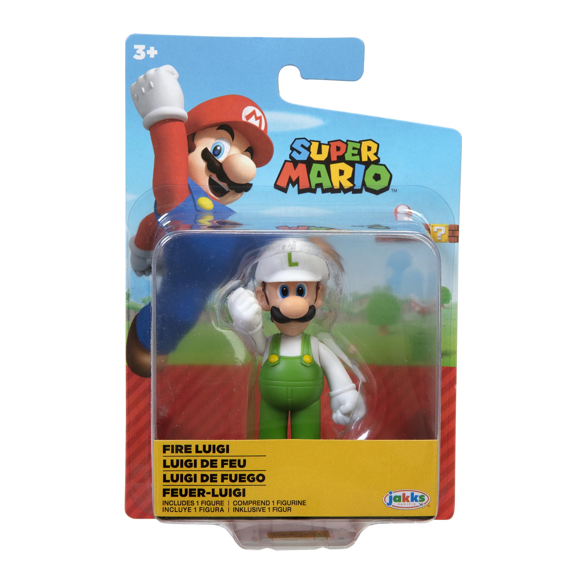 Figurina Nintendo Super Mario - Standing Luigi, 6 cm
