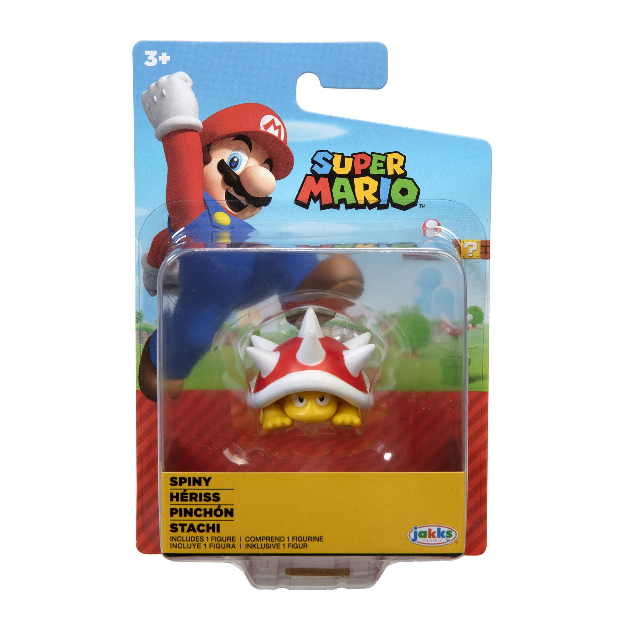 Figurina Nintendo Super Mario - Spiny Hariss, 6 cm