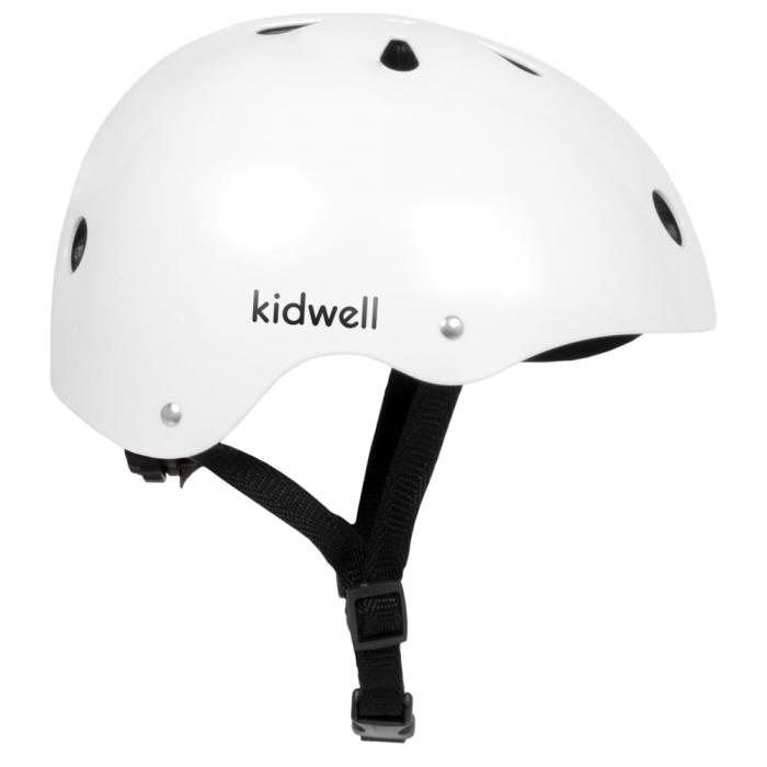 Casca de protectie pentru copii kidwell orix - alb