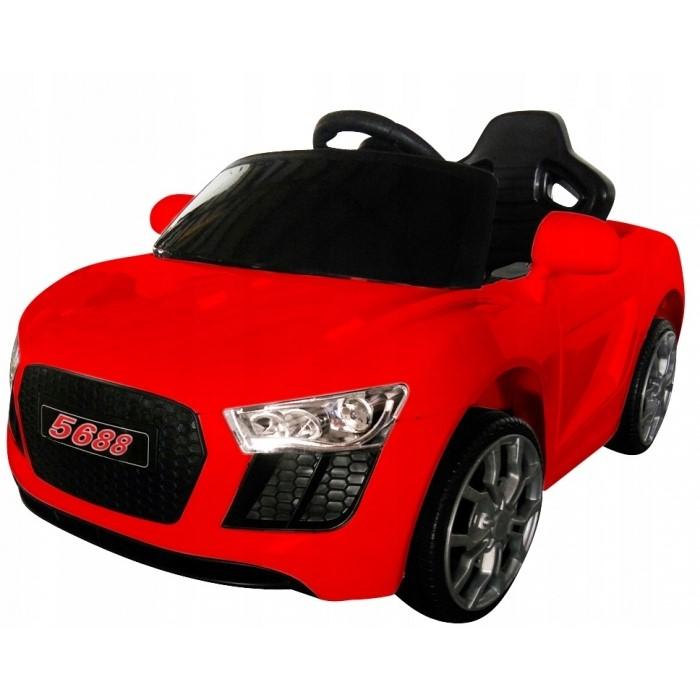 Masinuta electrica cu telecomanda cabrio aa4 r-sport - rosu