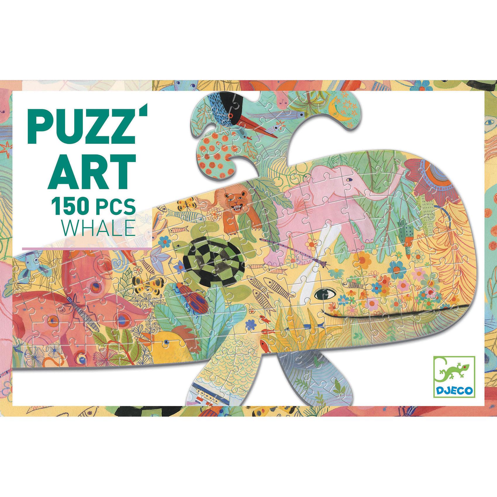 Puzzle djeco balena