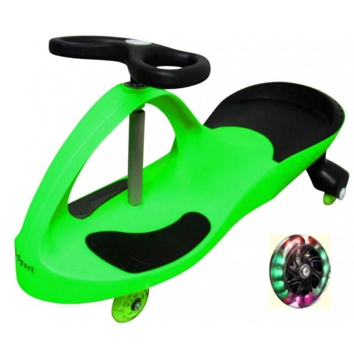 Trotineta gravitationala tip barca j1 r-sport - verde