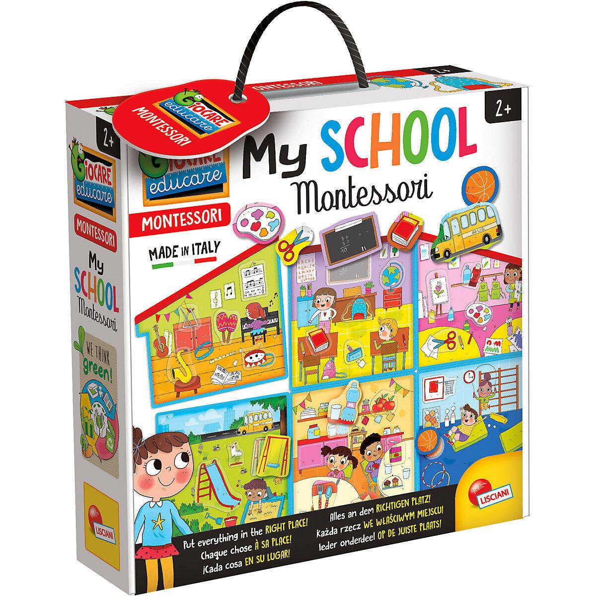 Joc Montessori - Scoala mea