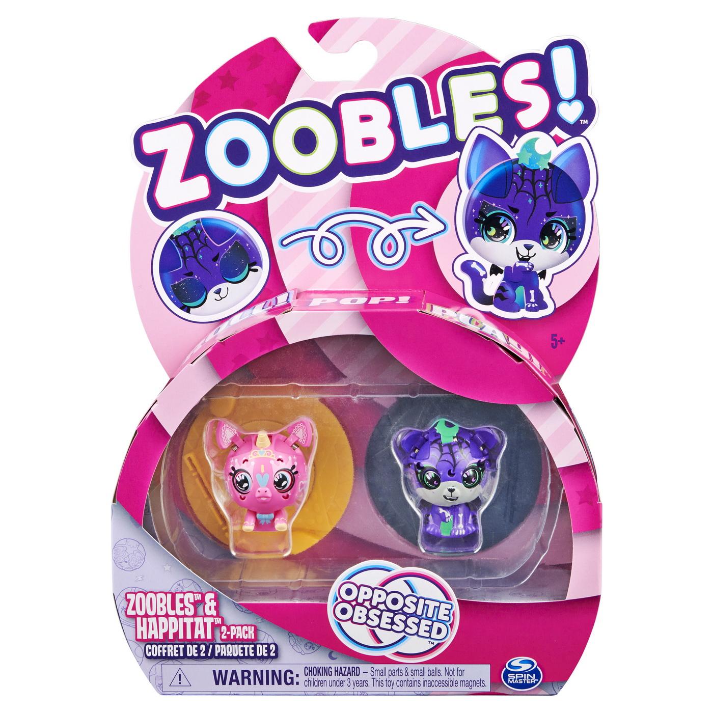 Zoobles pachet animalute de transformare unicorn si tigru