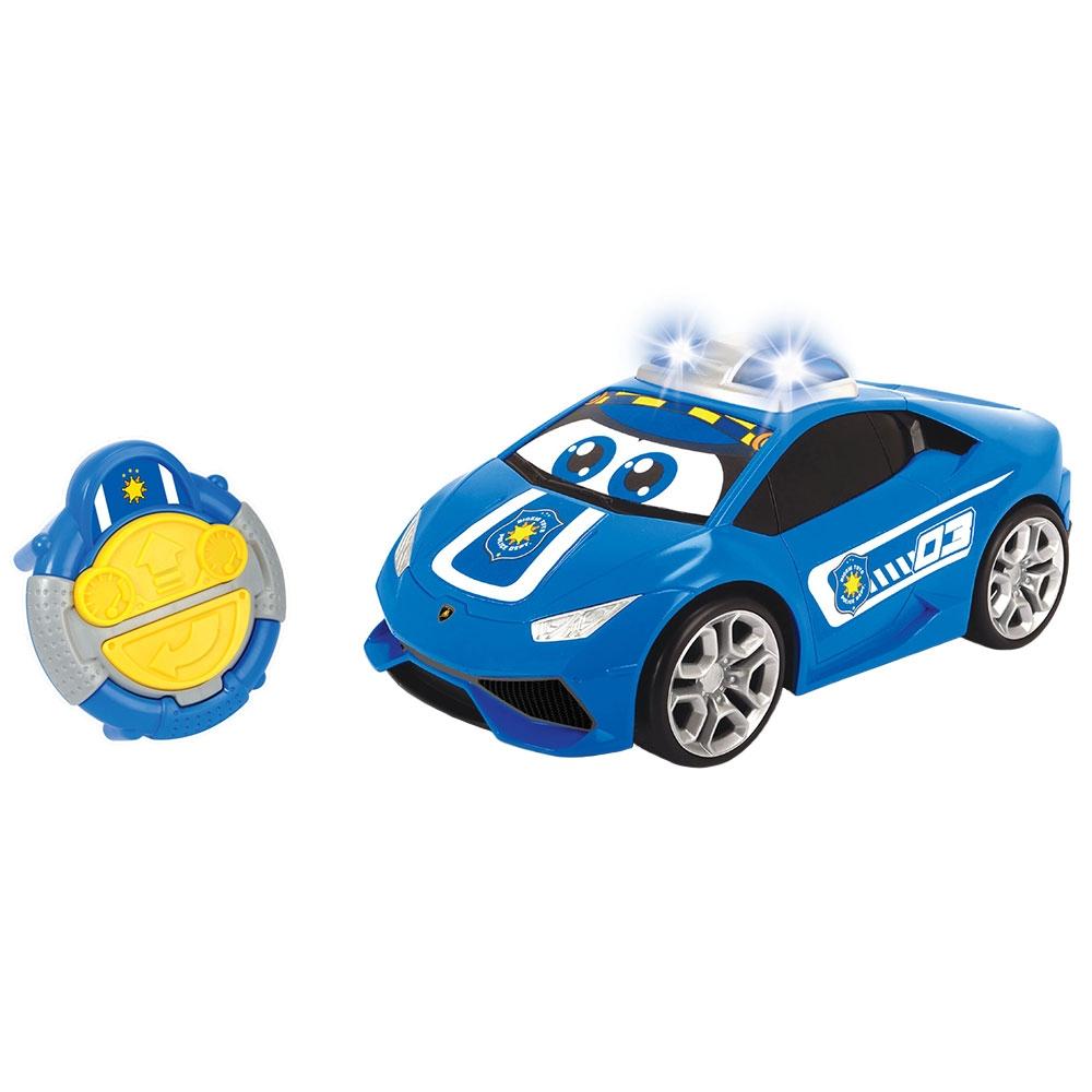 Masina Simba ABC Pauly Police Lamborghini Huracan cu telecomanda