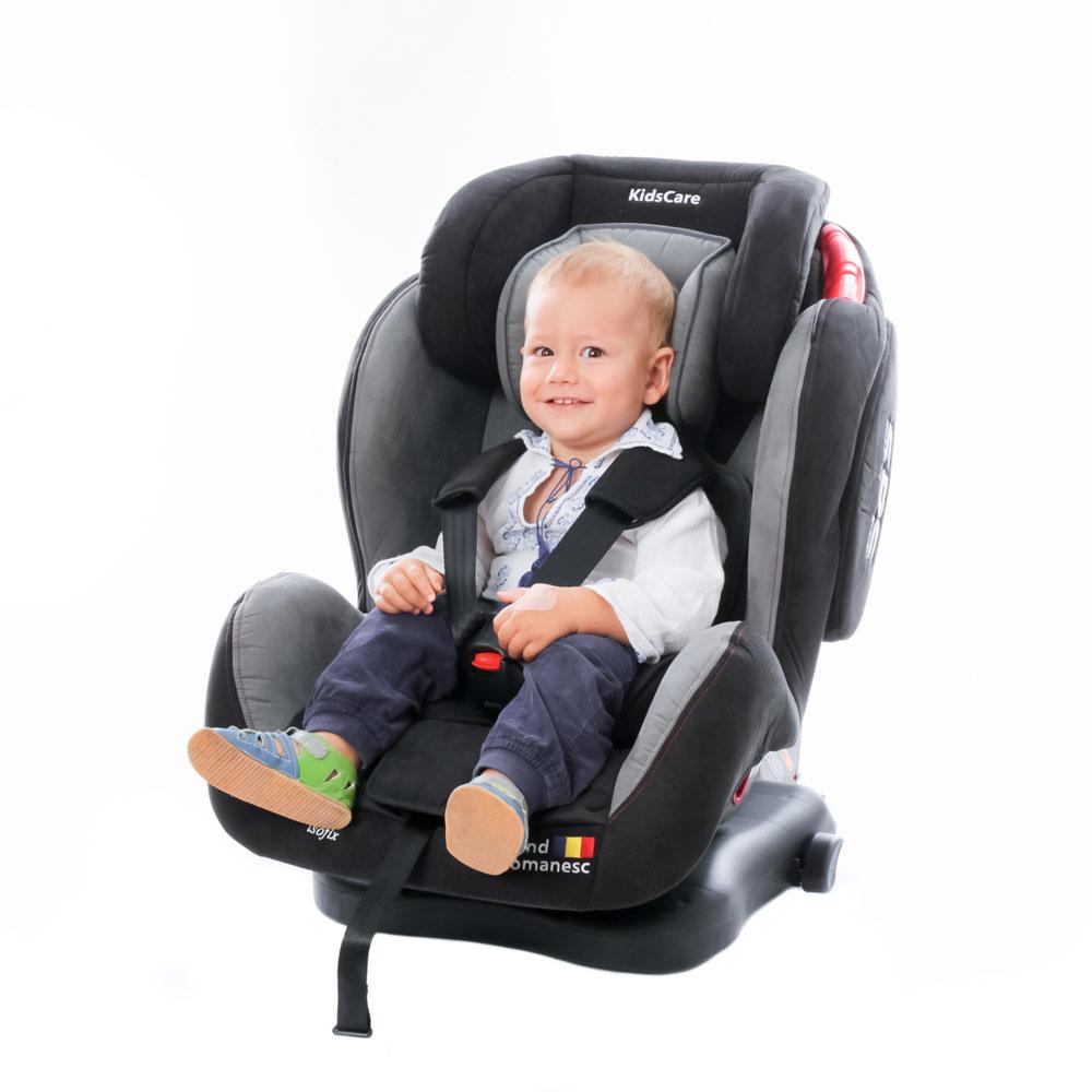 Scaun Auto Georgia Cu Isofix Si Top Tether Bej Kidscare
