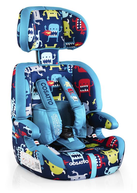 Scaun Auto Cosatto Zoomi 123 Cuddle Monster (5 Plus)