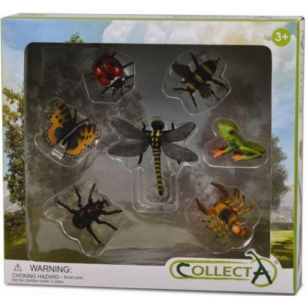 Set 7 Figurine Insecte Collecta
