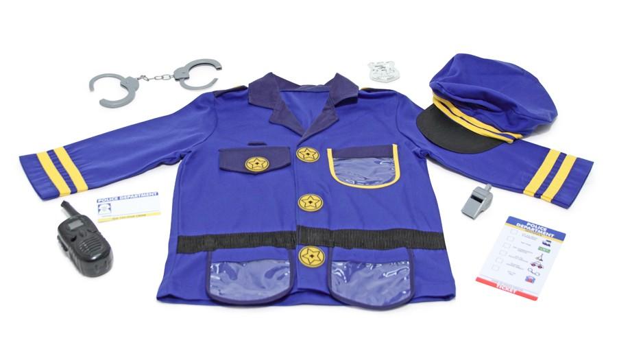 Costum Carnaval Copii Ofiter De Politie Melissa And Doug
