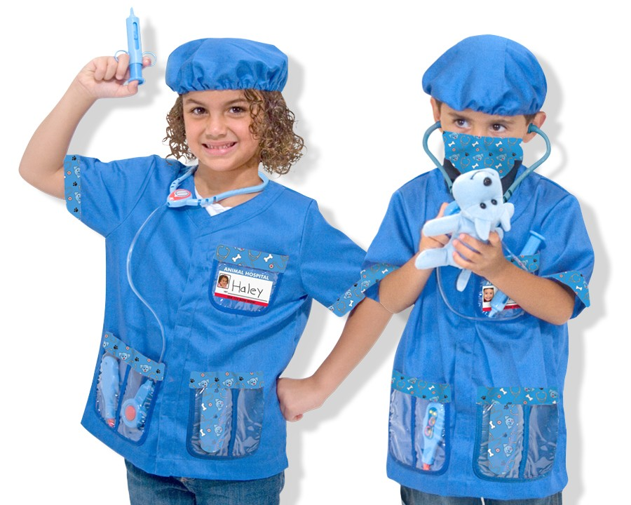Costum Carnaval Copii Medic Veterinar Melissa And Doug