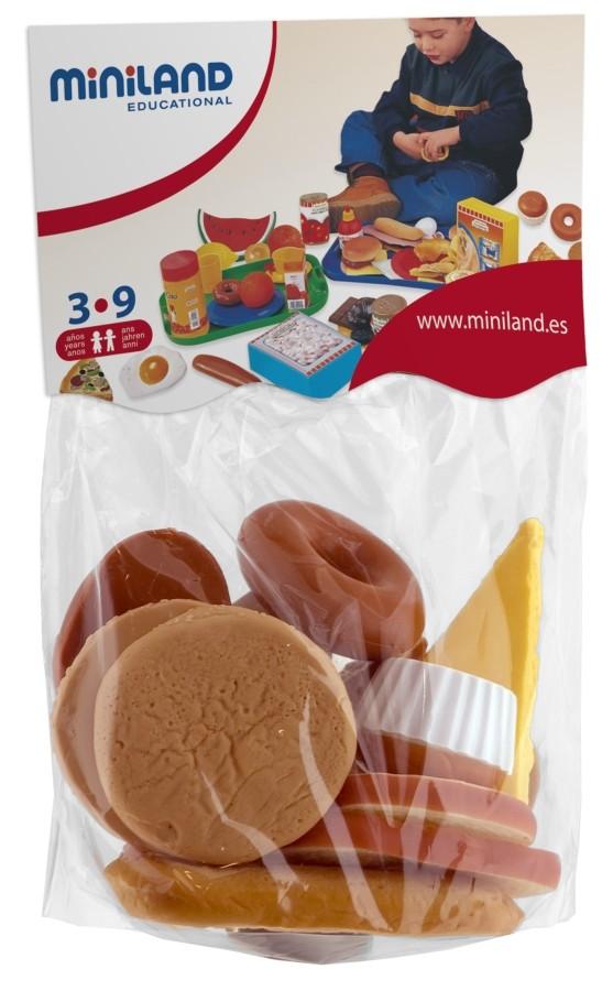 Produse De Cofetarie Set De 15 Figurine - Miniland