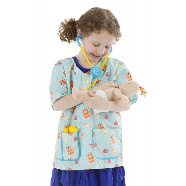 Costum De Carnaval Asistenta Medicala Pediatrie