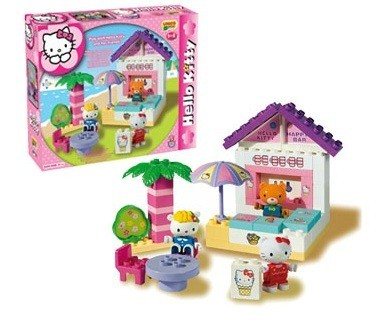 Set Constructie Unico Plus Hello Kitty Minibar