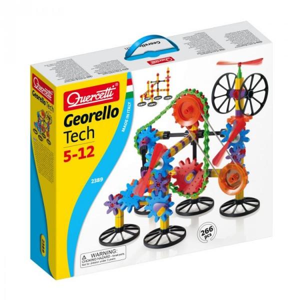 Joc Creativ Georello Tech Quercetti Roti Dintate 3d