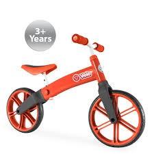 Ybike Yvolution Yvelo Motoras Pentru Copii Rosu