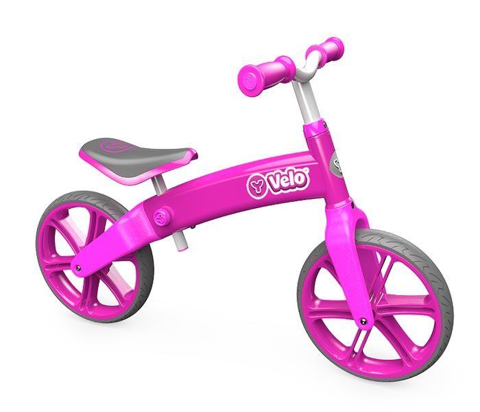 Ybike Yvolution Yvelo Motoras Pentru Copii Pink