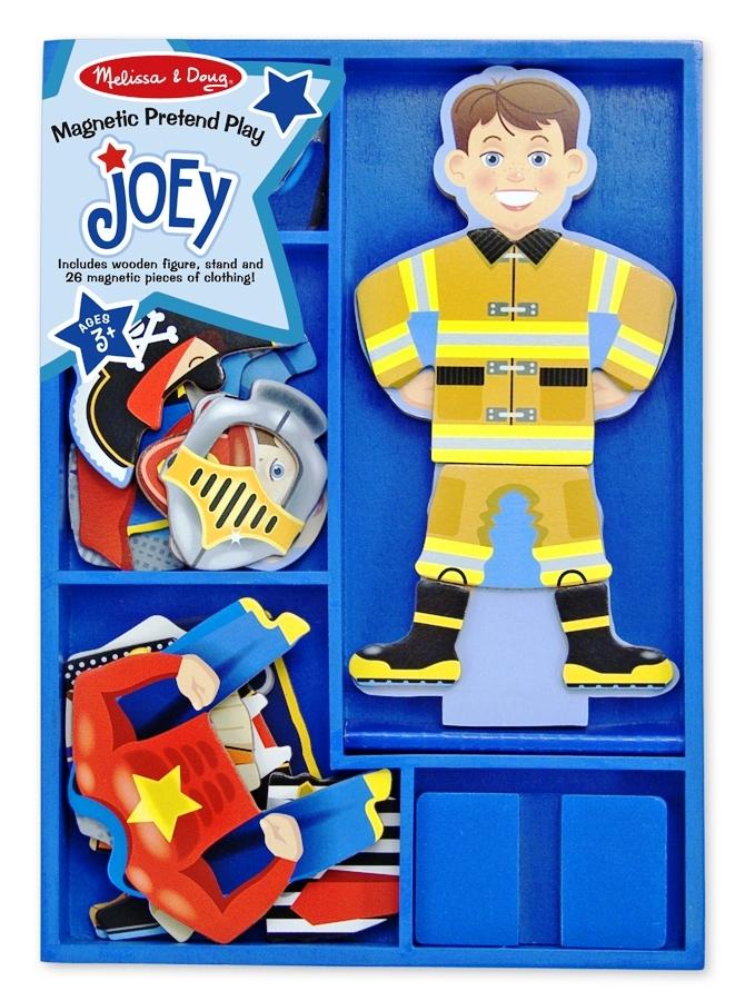 Set Magnetic Sa-l Imbracam Pe Joey Melissa And Doug imagine