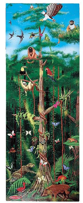 Meliss&doug – Puzzle De Podea Padurea Tropicala 100 Pcs