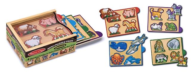 Cutie Cu Minipuzzle Animale Melissa And Doug