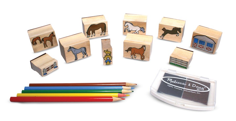 Set De Stampile Caluti Melissa And Doug