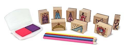 Set De Stampile Printese Melissa And Doug imagine