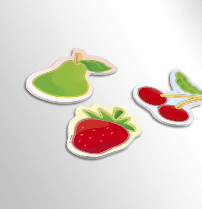 Set 6 Puzzle Fructe - Miniland
